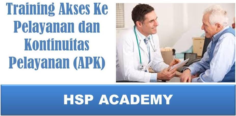 Training Akses Ke Pelayanan dan Kontinuitas Pelayanan  (APK)